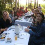 Frühstück im steirischen Wald