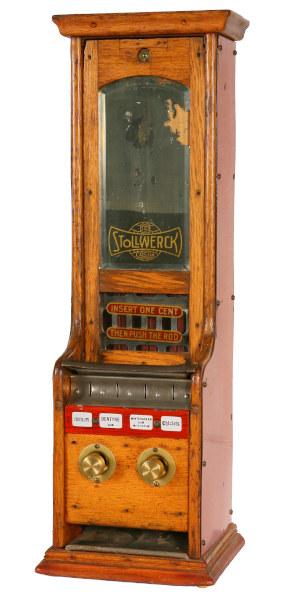 Stollwerck-Automat von Volkmann aus dem Jahr 1892
